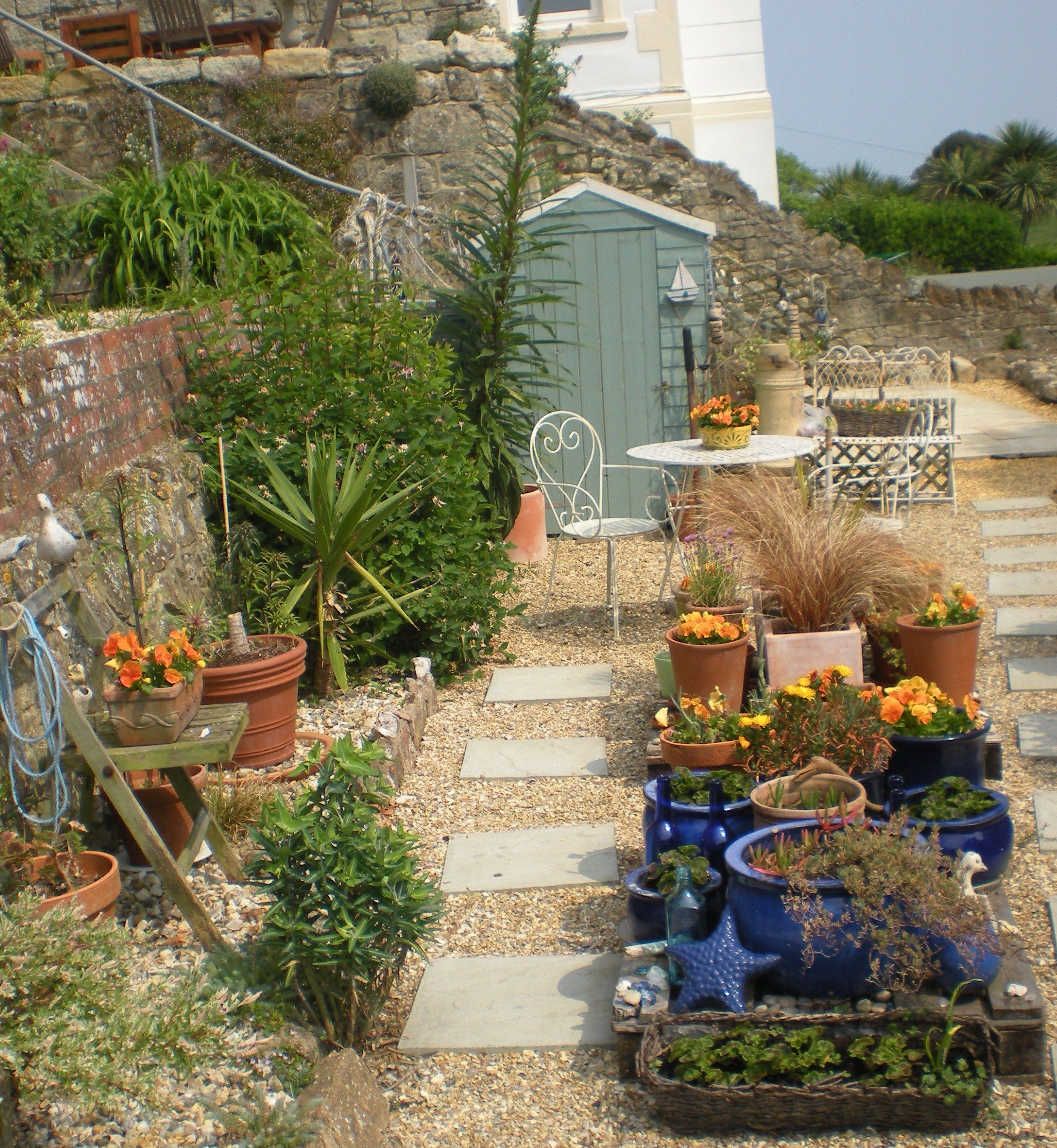 Seaside Garden Beach Theme Coastal Gardens Decor