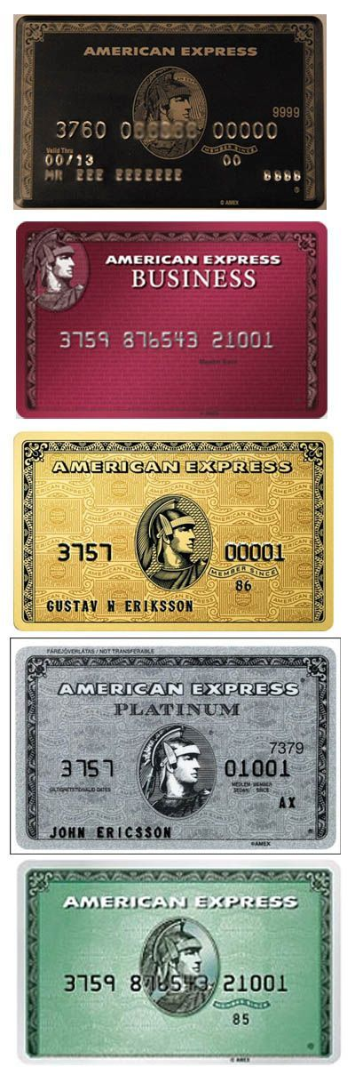 American Express cards | Miles, Points and Credit Cards | Pinterest ...