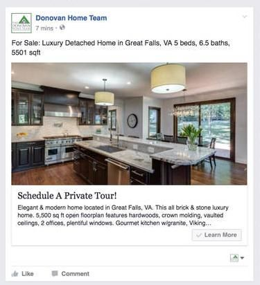 Real Estate Advertising: 43 Great Examples Of Real Estate Facebook ...