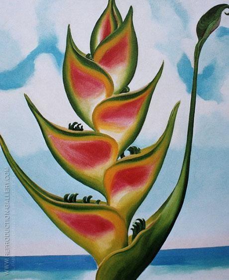 Georgia Okeeffe Oil Painting