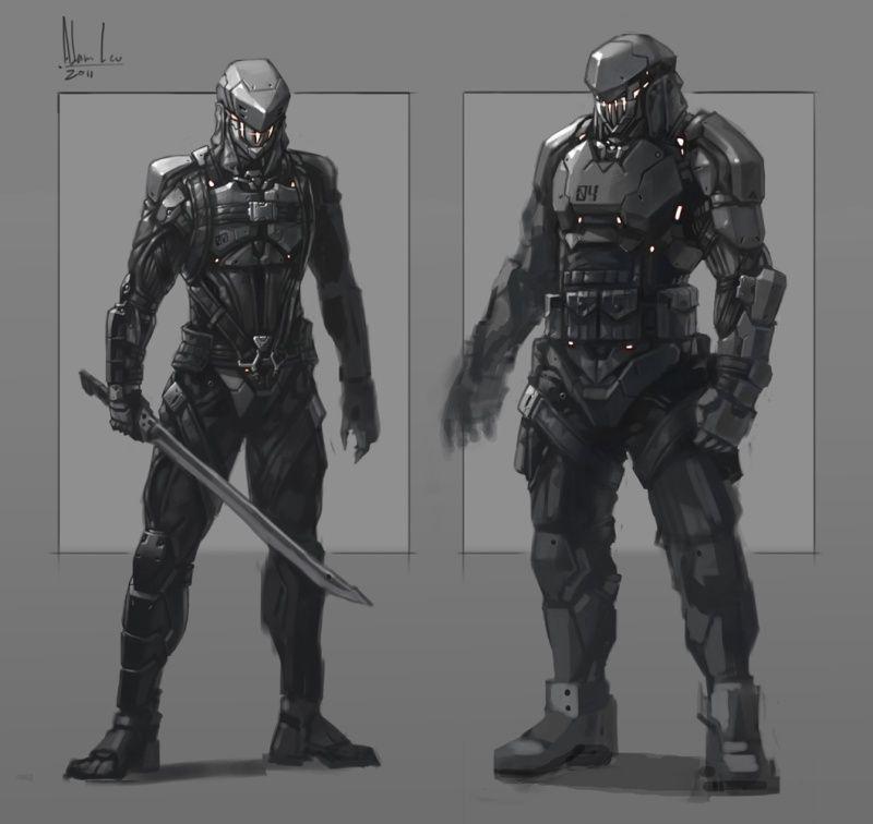 Future warrior, futuri...
