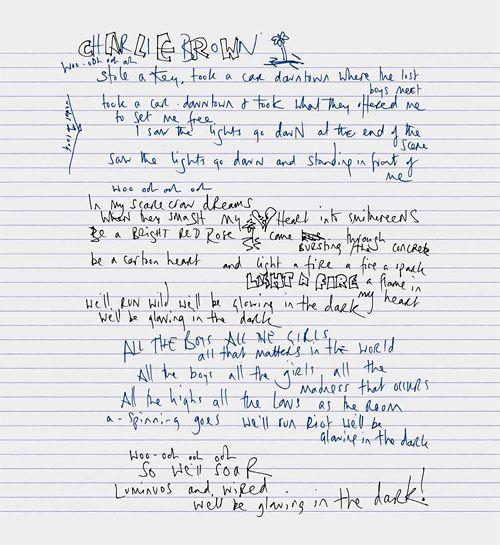 Coldplay Charlie Brown Single