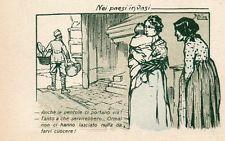 WW1 Propaganda - Ill. Attilio Mussino - Non Viaggiata - TL029