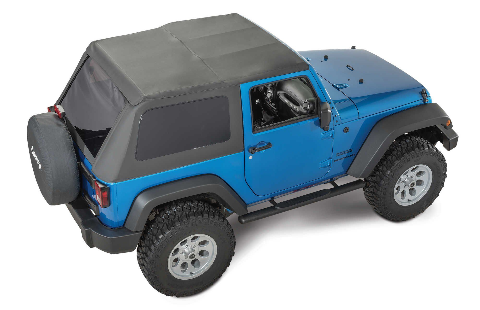 Our innovative soft top design specifically for the JK 2 door