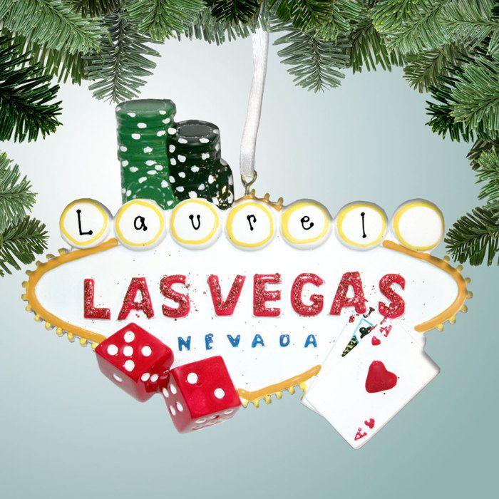 PersonalizedFree.com - Las Vegas Personalized Christmas Ornament, $12.99 (http://personalizedfree.com/las-vegas/)