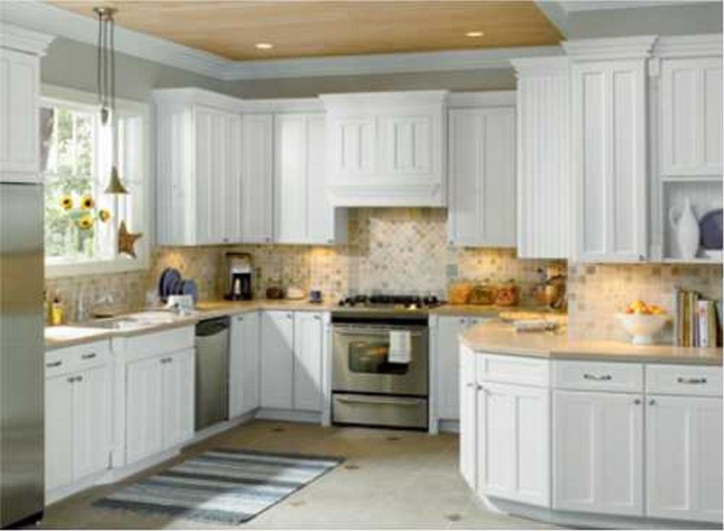 Best Home Depot White Kitchen Cabinets Superior Antique White 400 x 300