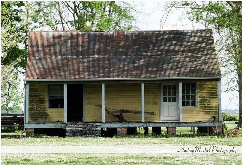 slave quarters from a Louisiana sugar plantation