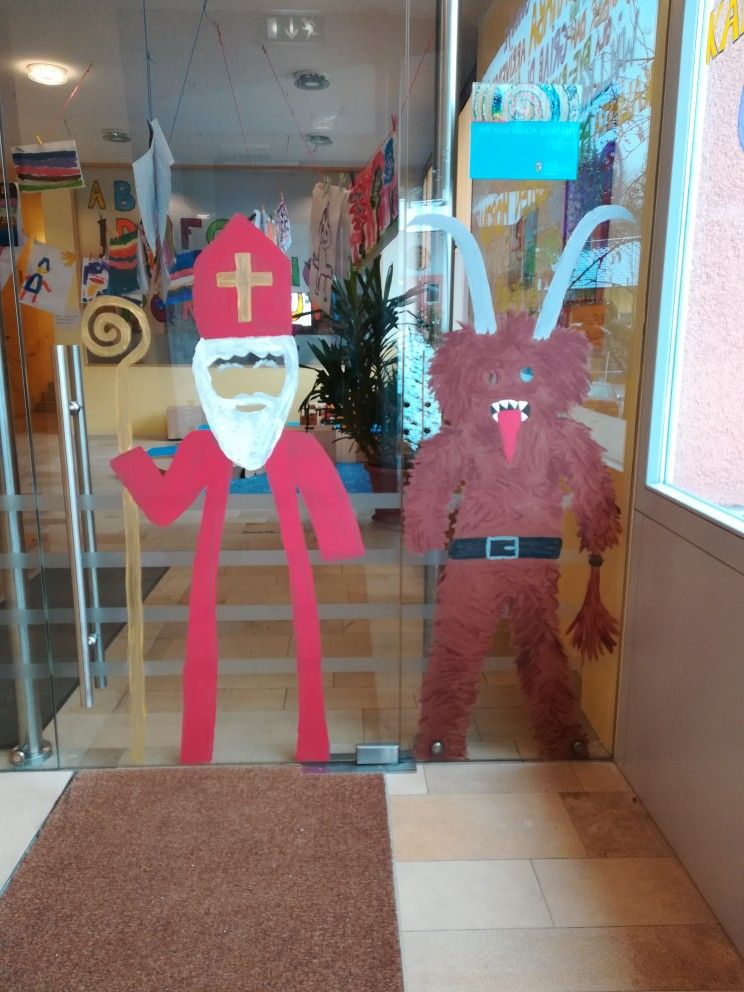 Nikolaus Und Krampus Zum Durchschauen Nikolaus