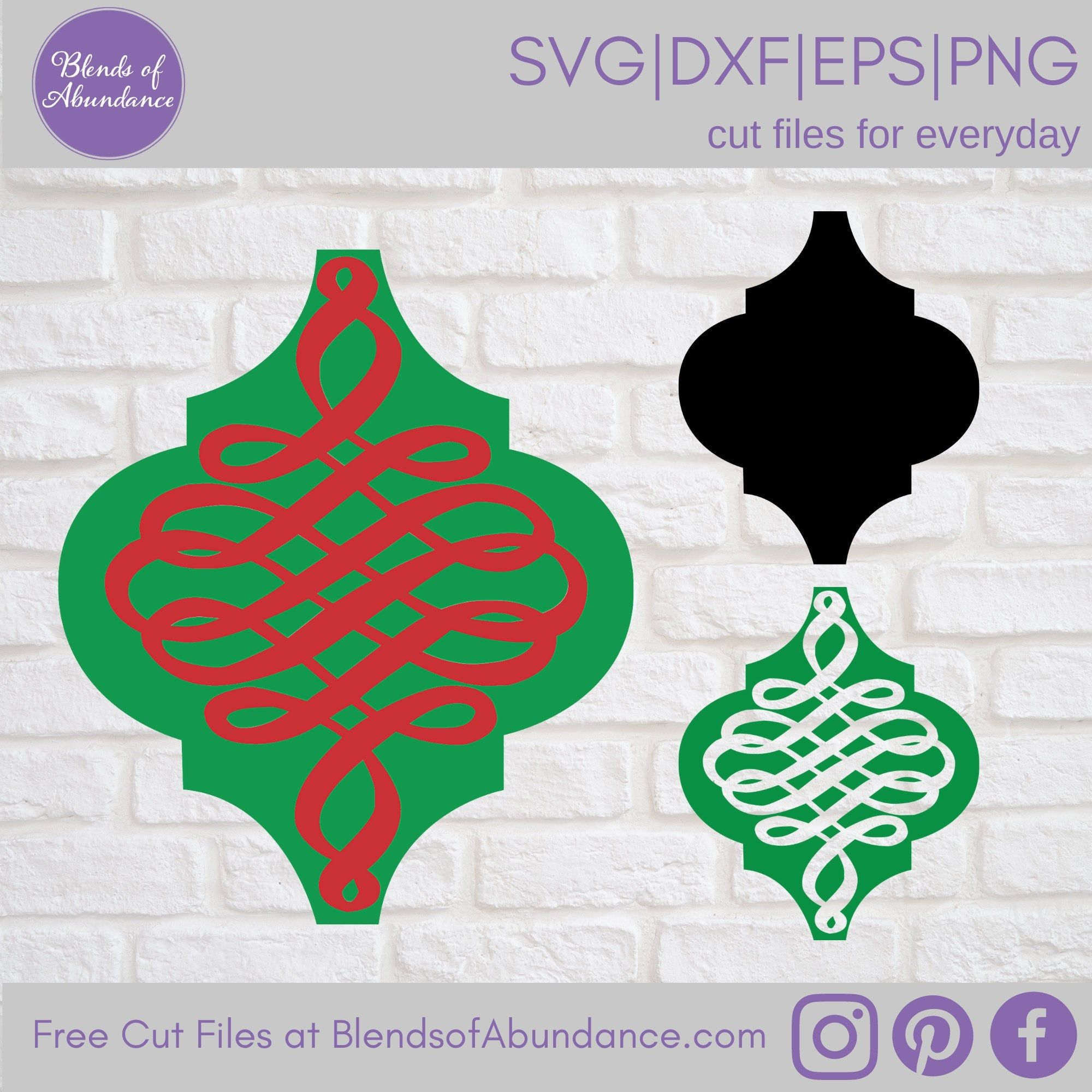 Decorative Ornament Svg Tile Ornament Svg Tile Ornament Etsy In 2021 Ornament Template Arabesque Tile Ornaments Design