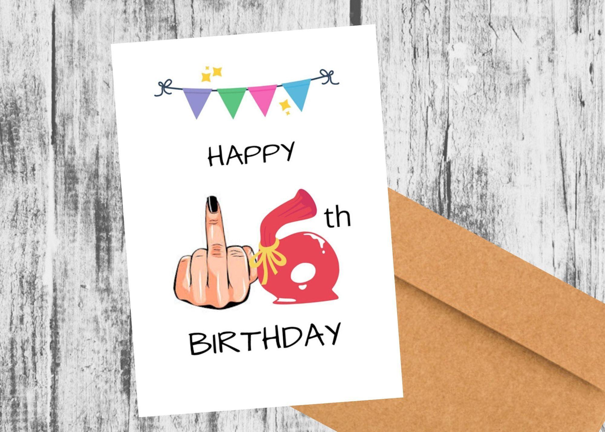 Milestone Sweet 16 Happy 16th Birthday Card Funny Birthday Card For Her Him Brother Sister So Happy Anniversary Cards 21st Birthday Cards 18th Birthday Cards