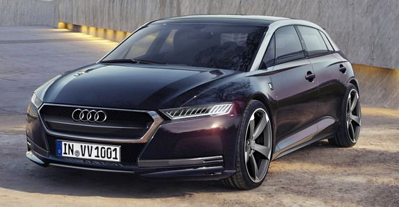 Audi A6 E Tron Sportback Plug In Hybrid Concept