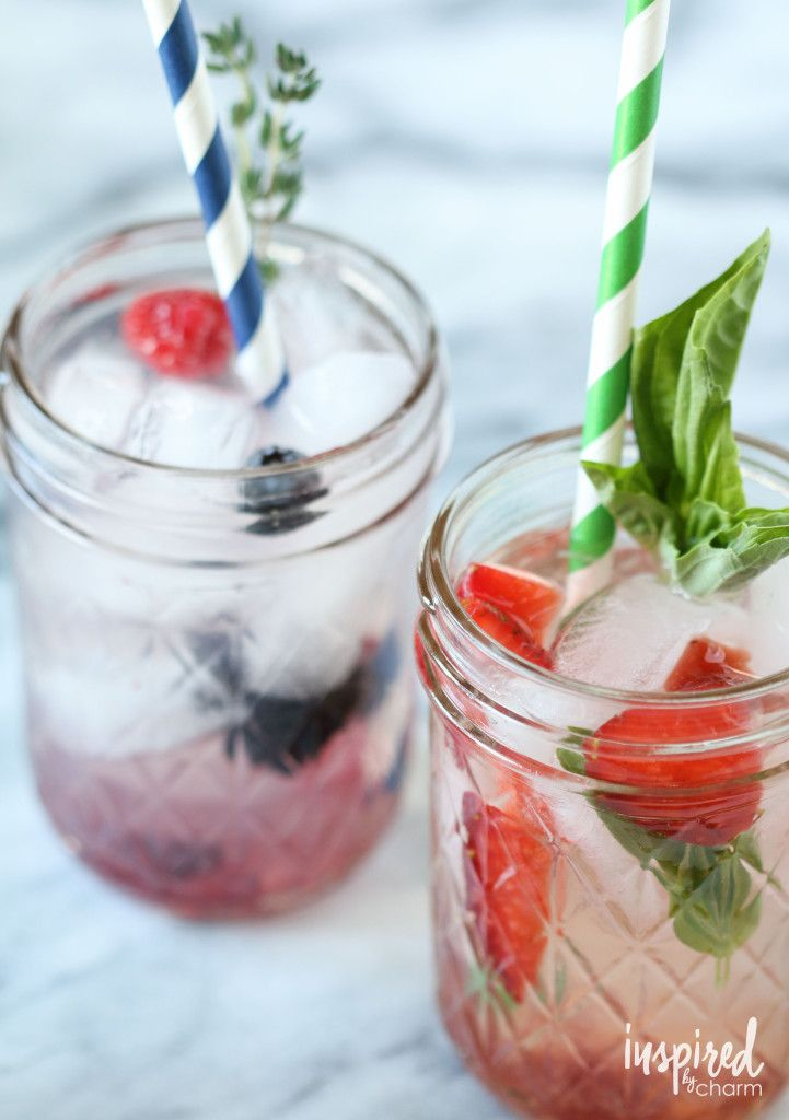 A Spoonful Of Jam Add Fresh Sweet Flavor To This Cocktail Perfect For Spring And Summer