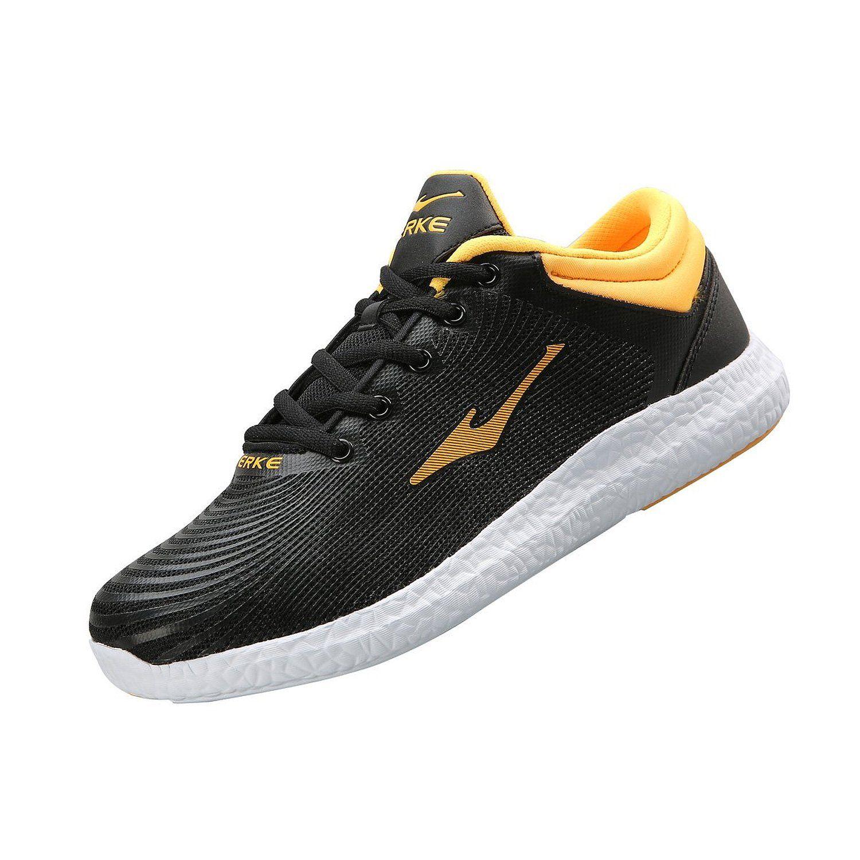 212601d8432be Amazon.com:Erke Men Leather Sport Low Cut Shoes 51116103055: Shoes ...