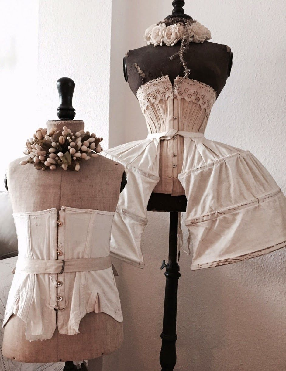 Vintage Dress Forms With Corsets