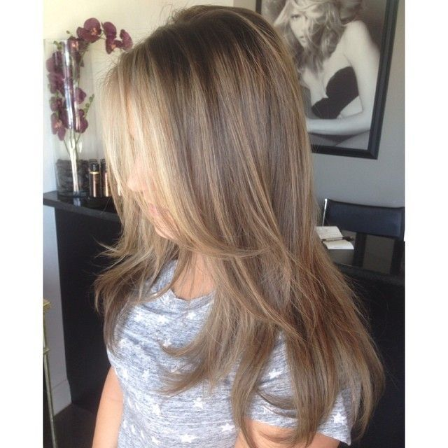 Image Result For Warm Blonde Highlights Around Face Only Gray Is