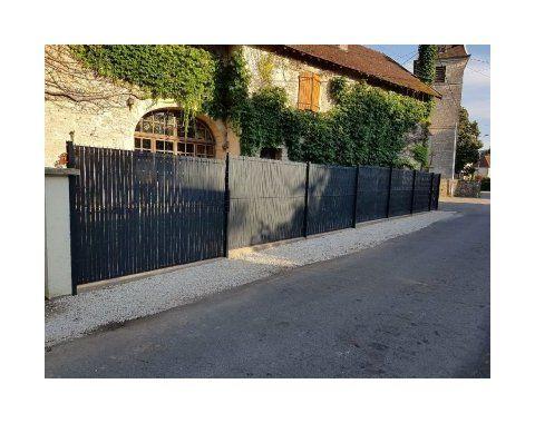 Brise Vue Brise Vent Canisse Et Brande Outdoor Decor Sidewalk