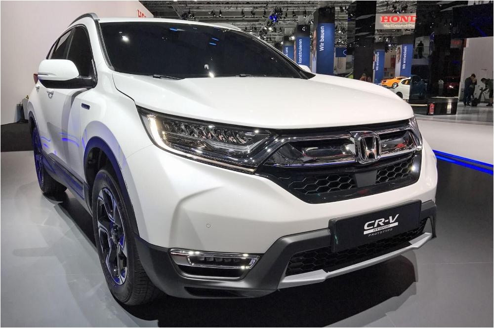 Honda Honda CRV Hibrid Front Spy Shot Honda CRV 2019 2020