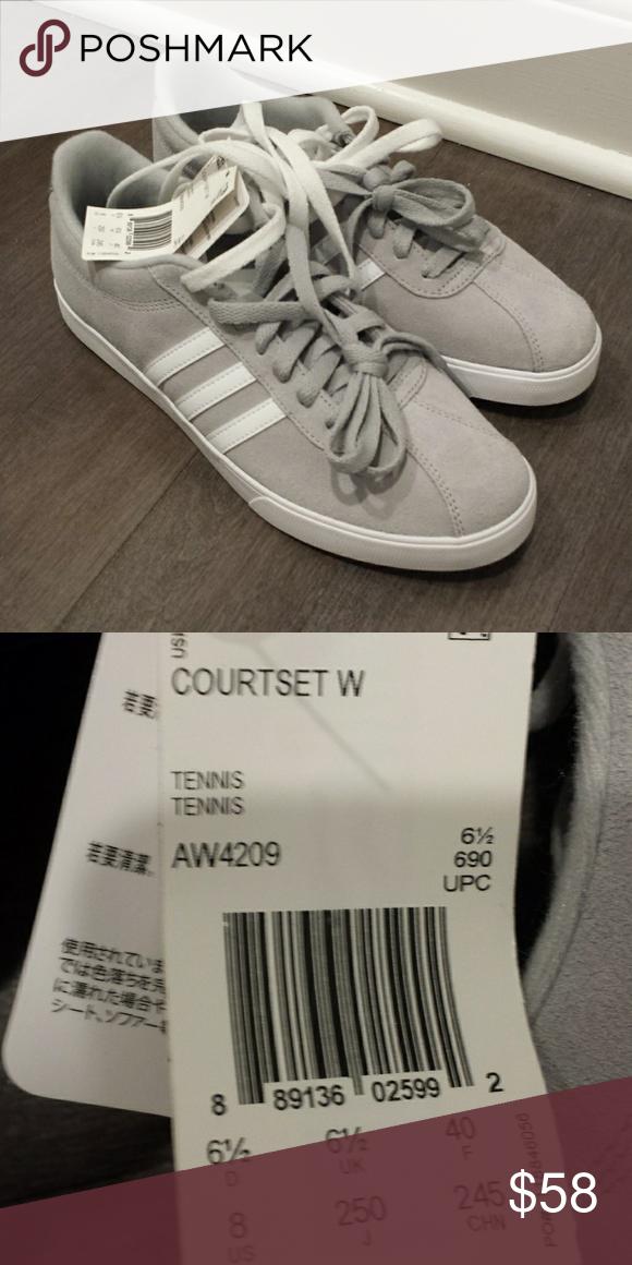 New Adidas Courtset Sneaker Size 8