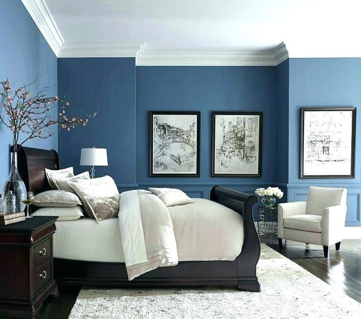 blaues themenorientiertes schlafzimmer  wohnen