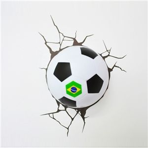 3d wandleuchte led modern fuball design 3d wandlampen pinterest cheap lamp glue buy quality party cups plates napkins directly from china lamp clip suppliers brazilian world cup football christmas birthday dream master mozeypictures Images