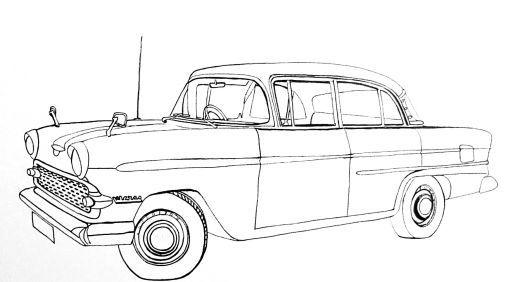 How to draw cars easy. | Car drawings, Easy drawings, Drawings