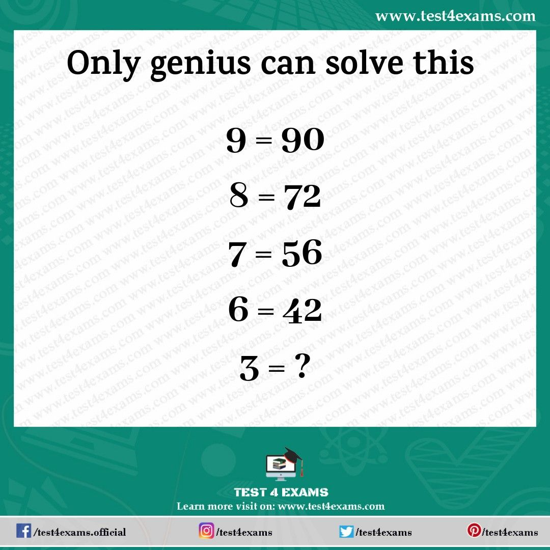 Puzzle 1036 (With images) Math riddles brain teasers