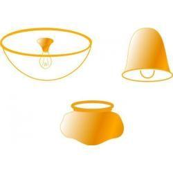 Photo of Faro replacement glass for ceiling fan Mini Icaria FaroFaro