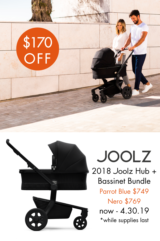 Joolz Spring Bundle Sale! Save 170 on Parrot Blue and