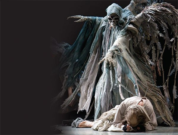 The Ghost Of Christmas Future.A Christmas Carol Set To Top International Dance Festival