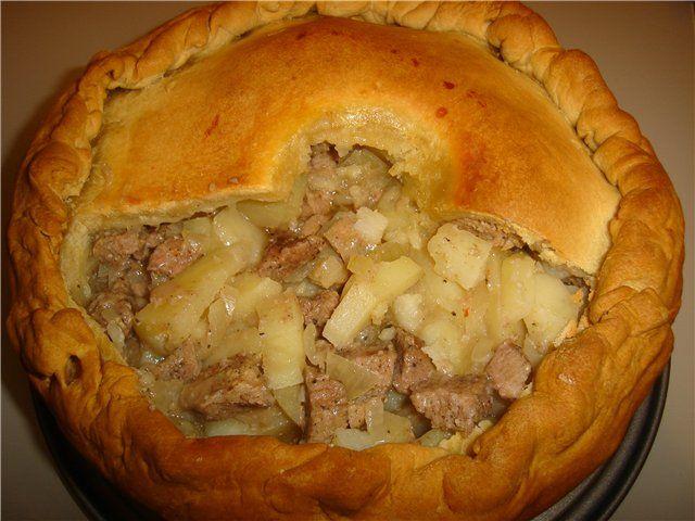 Татарский пирог бэлиш рецепт