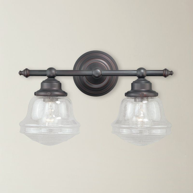 Photo of Margaree 2-Light Dimmable Vanity Light