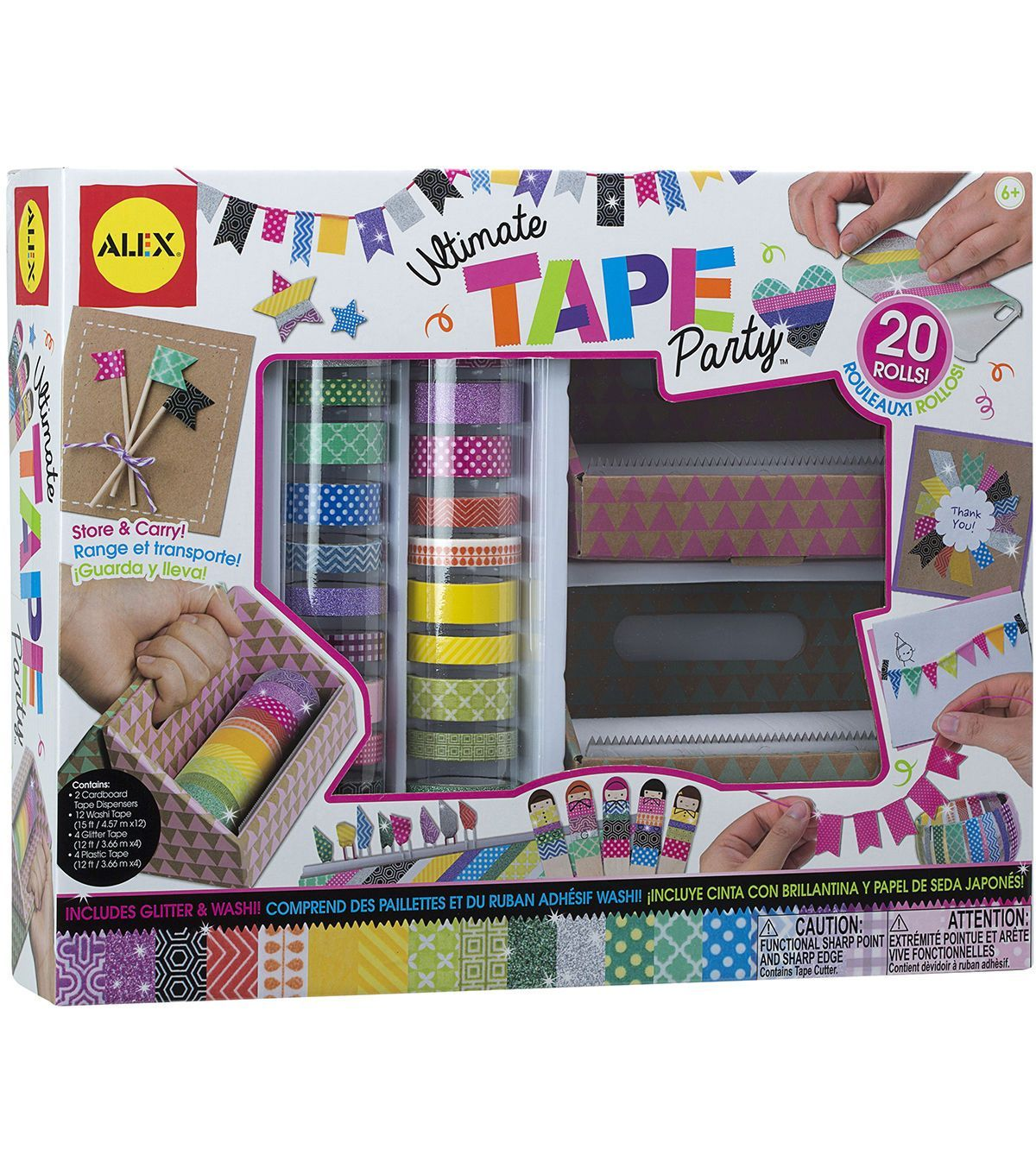 Ultimate Tape Party Kit Jo Ann Party Kit Paper Tape Crafts Diy Christmas Gifts Cheap