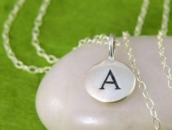 Ursprünglichen Charm Halskette personalisierte von TheDirection, $19.00