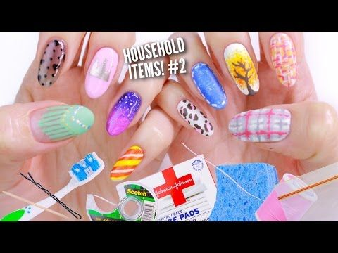 10 Nail Art Designs Using Household Items The Ultimate Guide 2