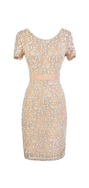 Beige Lace Dress Fashion For Women Over 50 Beige Lace