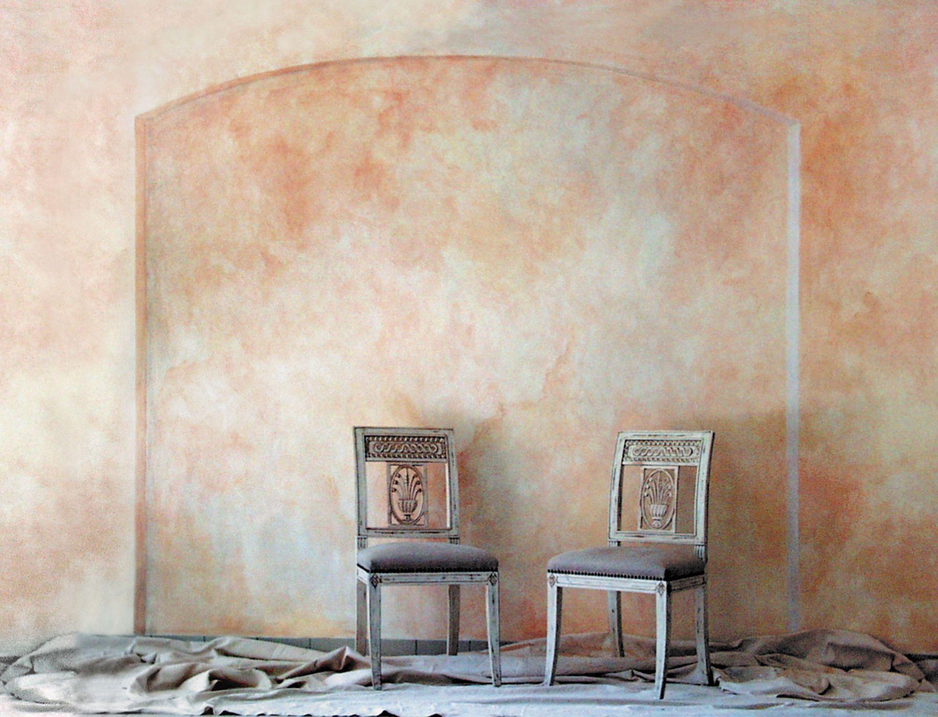 Lasierte wand boden wands modern art workshop studio painting walls step