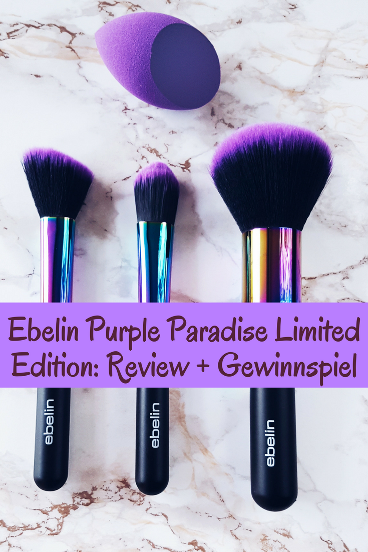 Make Up Gewinnspiel Ebelin Purple Paradise Limited Edition Review Gewinnspiel