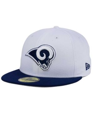 New Era Los Angeles Rams 2 Tone 59FIFTY Fitted Cap - White Navy f2c22a221