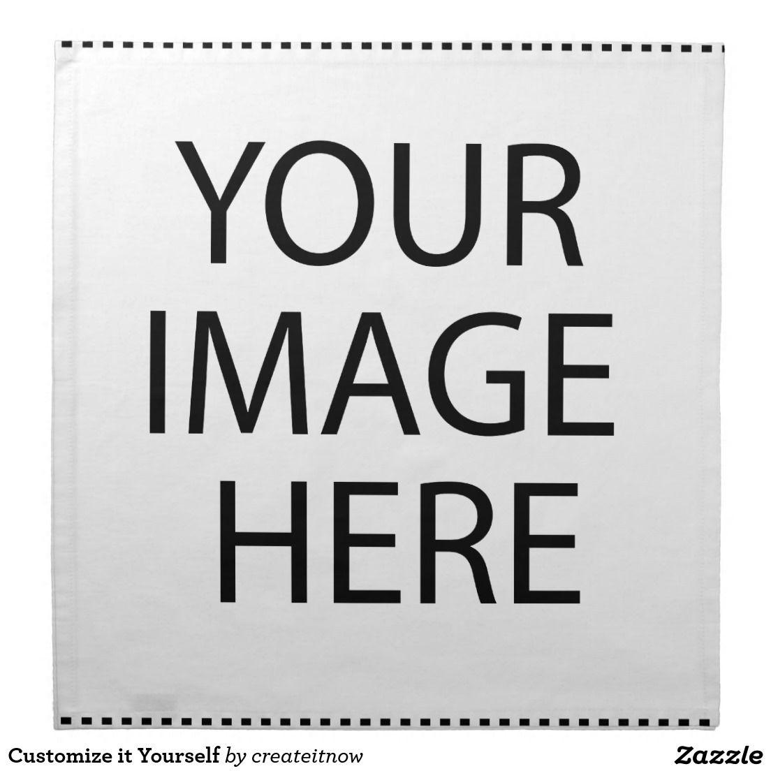 #Customize it Yourself #Clothnapkins #Napkins #Timsmanmal
