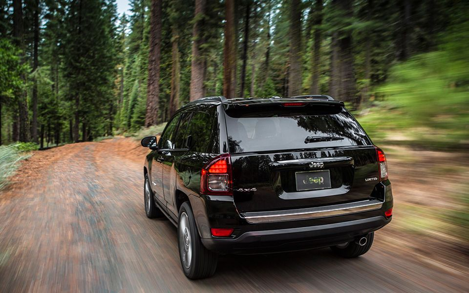 2015 Jeep Compass Exterior Nice trail shot of the 2015
