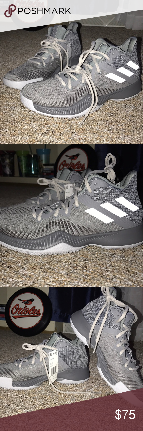 c6317f36d Adidas James Harden Mad Bounce Basketball men shoe Authentic DEADSTOCK Adidas  James Harden Mad Bounce Mens