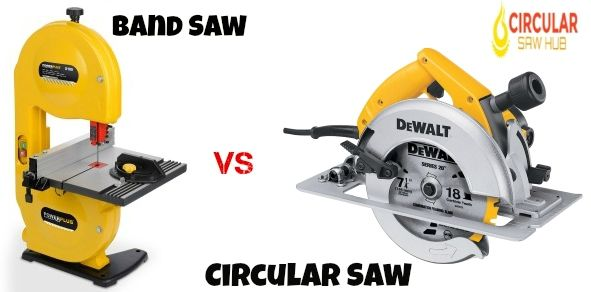 Band Saw Vs Circular Saw Which One You Should Buy Circular Saw Bandsaw Circular