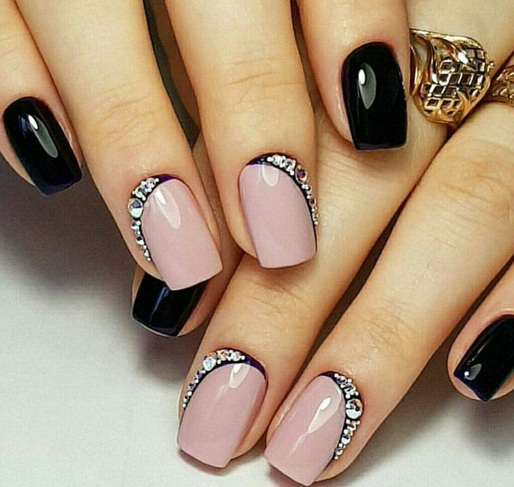 Related image | френч | Pinterest | Manicure, Aquarium nails and ...