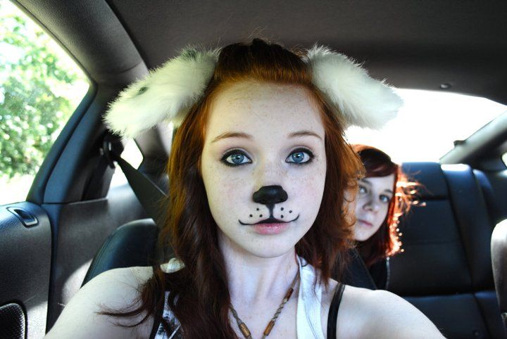 Dog Halloween Makeup.Pin On Halloween
