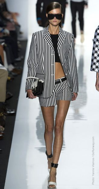 Spring 2013 Trend Reports  Black & White (Michael Kors)