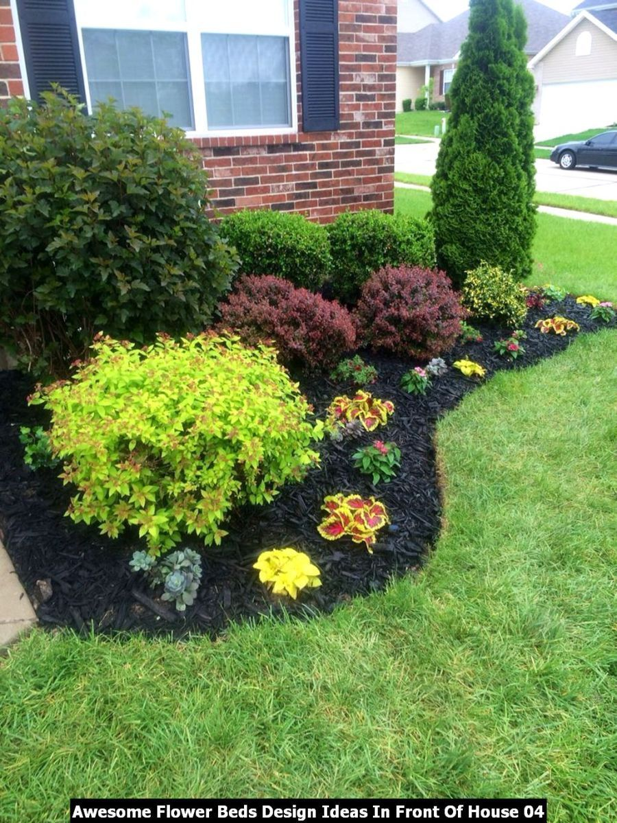 Photo of Awesome Flower Beds Design Ideas In Front Of House – DECOOSIGN #awesome #beds #D…