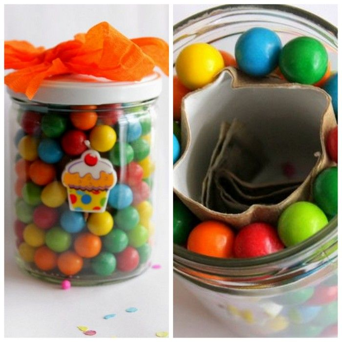 25 creative ways to give money money jars bubble gum and jar bubble gum money jar 25 ways to give a money gift negle Image collections