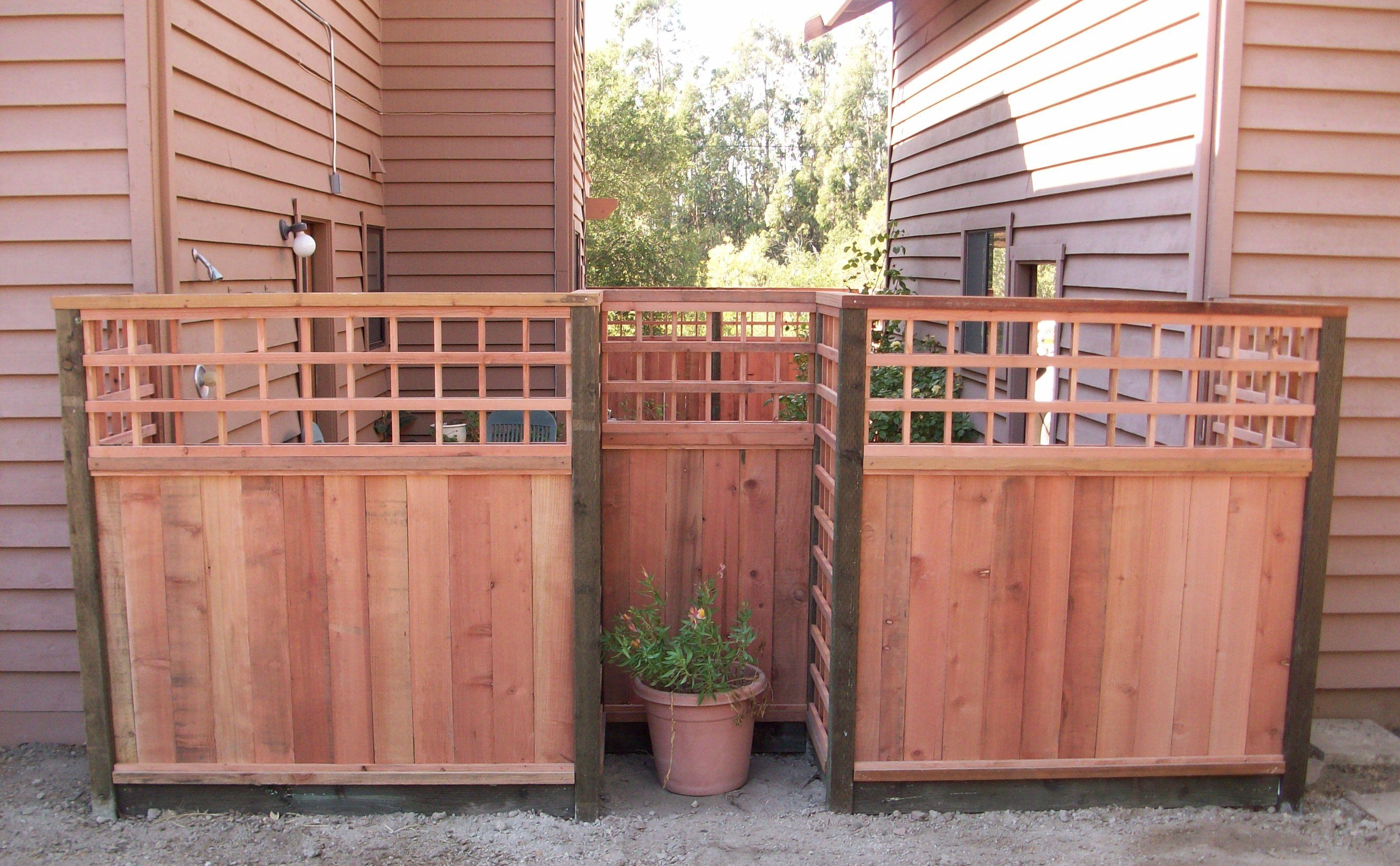 Custom Lattice Wood Fence  by   Arbor Fence, Inc.