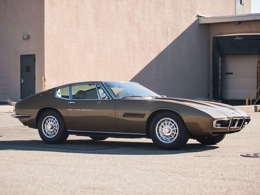 1970 Maserati Ghibli SS 4.9 Coupe by Ghia | Arizona 2016 | RM ...