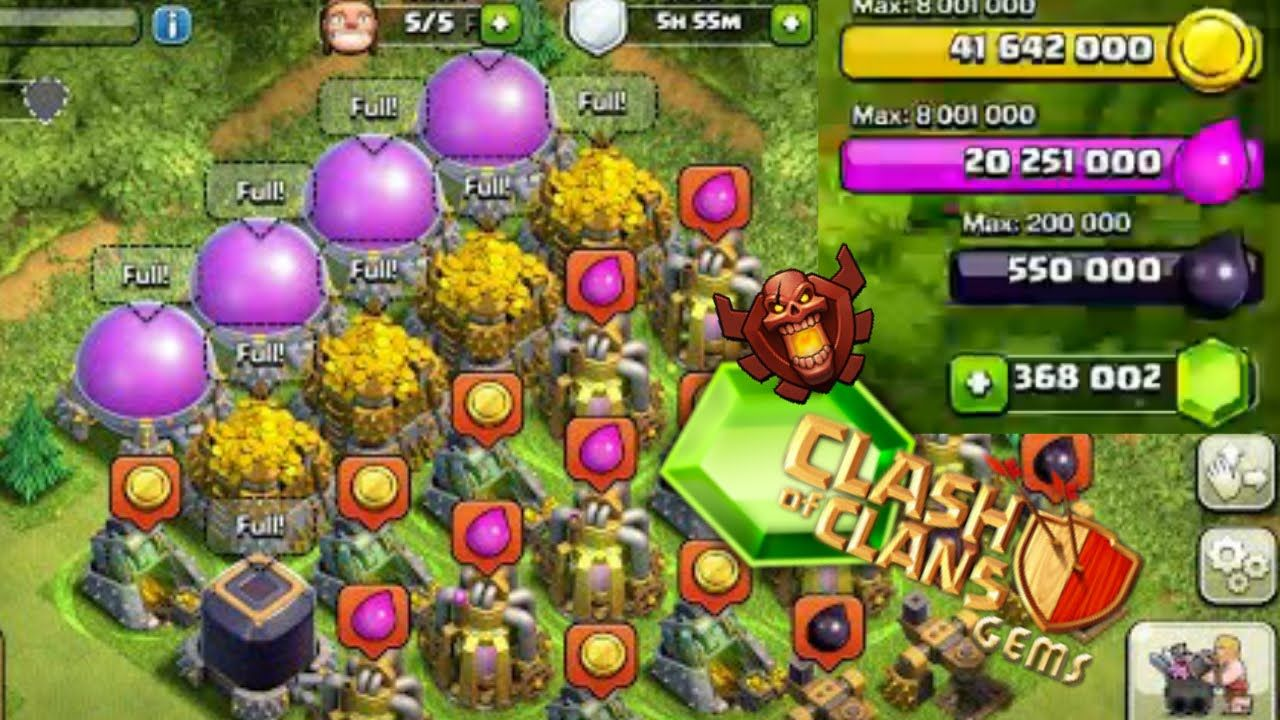 Coc Android 1 Coc Unlimited Troops Clash Of Clans Online Generator